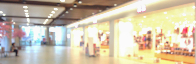Image of blurred store for background